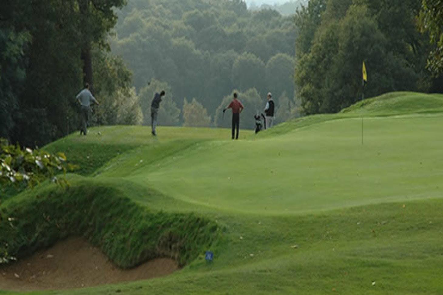 Royal Wimbledon Golf Club 18 hole golf course