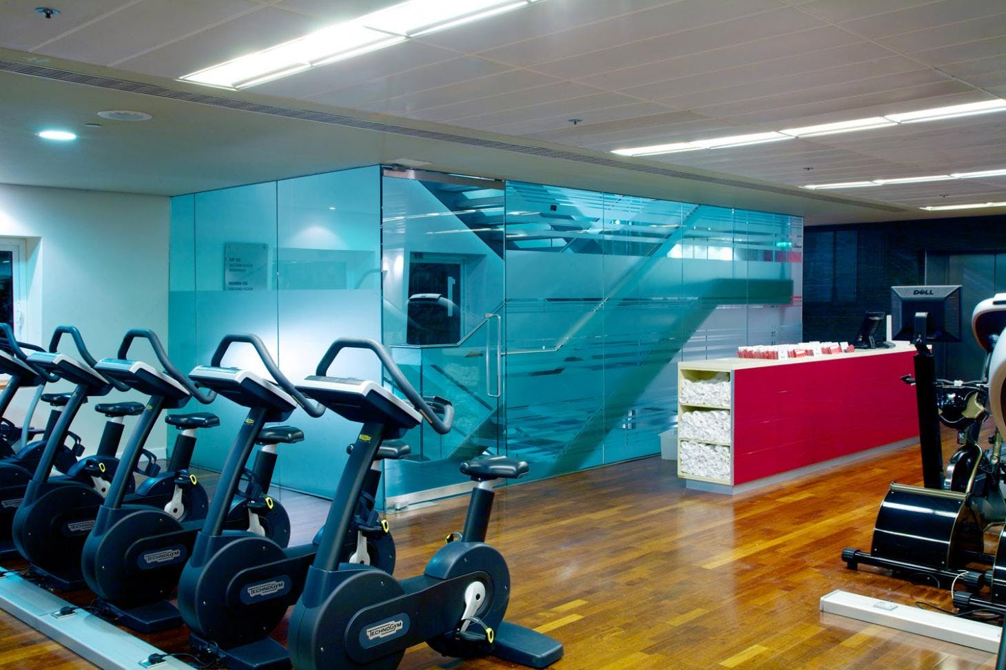 Virgin Active Canary Riverside Gym gym