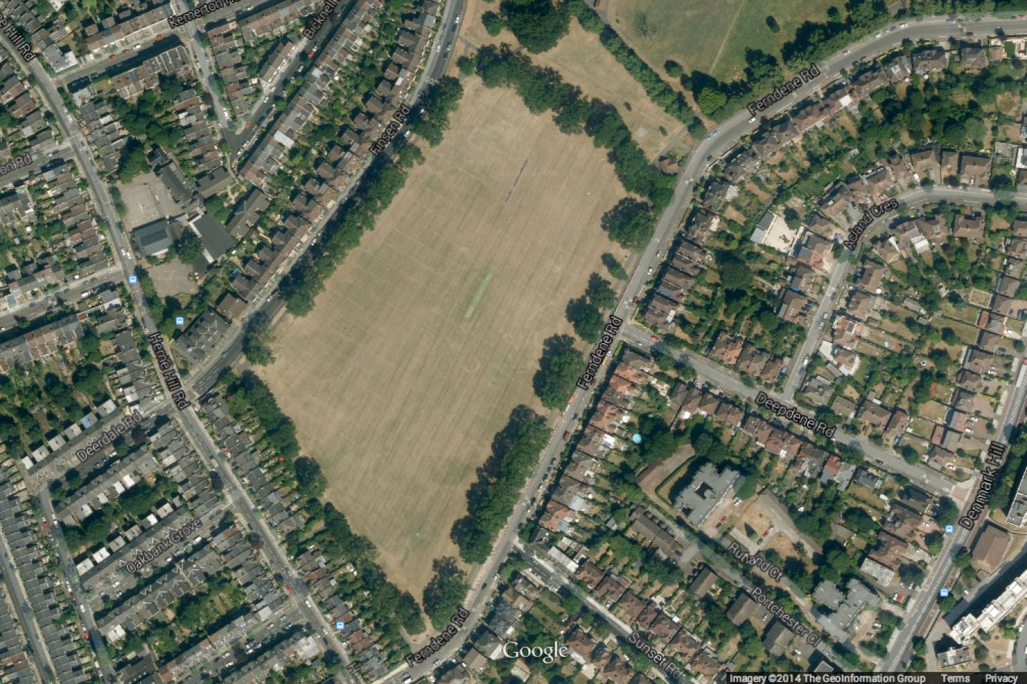 Ruskin Park Union | Grass rugby pitch