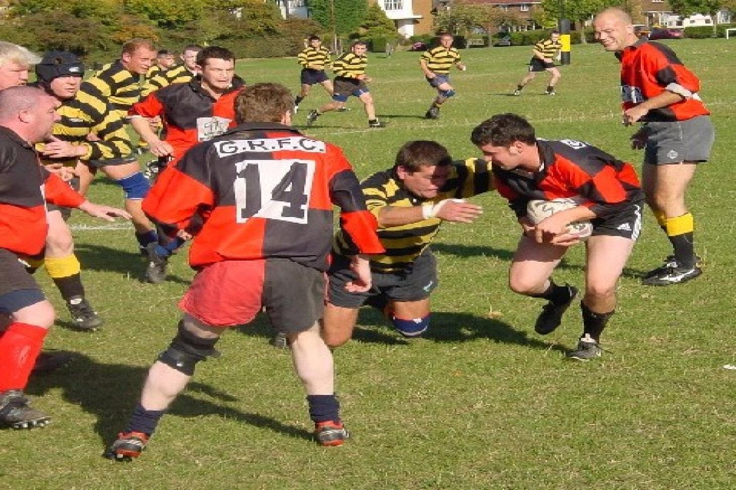 Plumstead Common Union rugby pitch