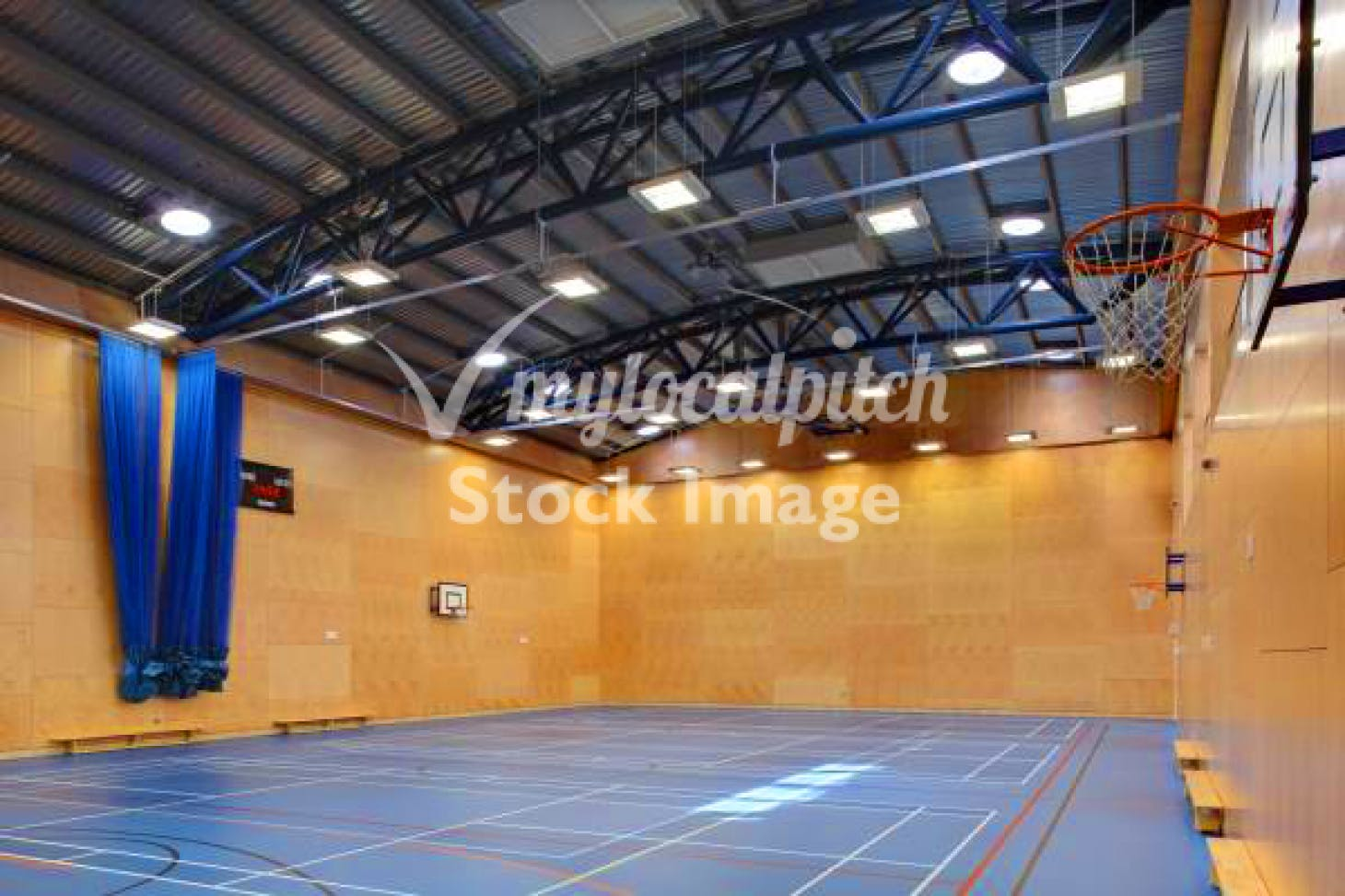Lilian Baylis Old School Indoor netball court