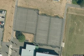 Greenford Sports Centre | Concrete Netball Court