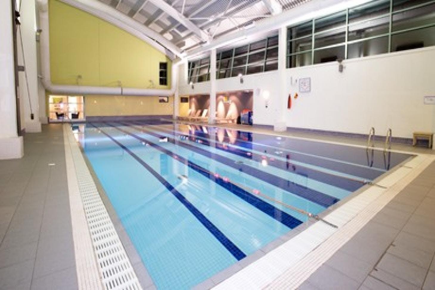 Nuffield Health Wandsworth Indoor swimming pool