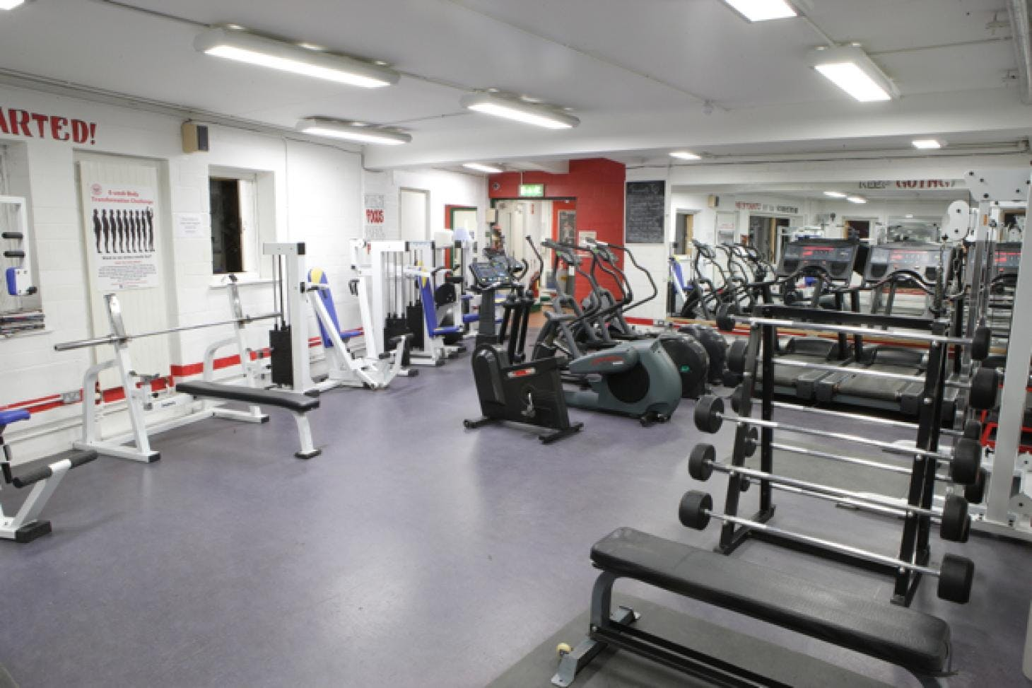 YMCA Sandymount Indoor gym