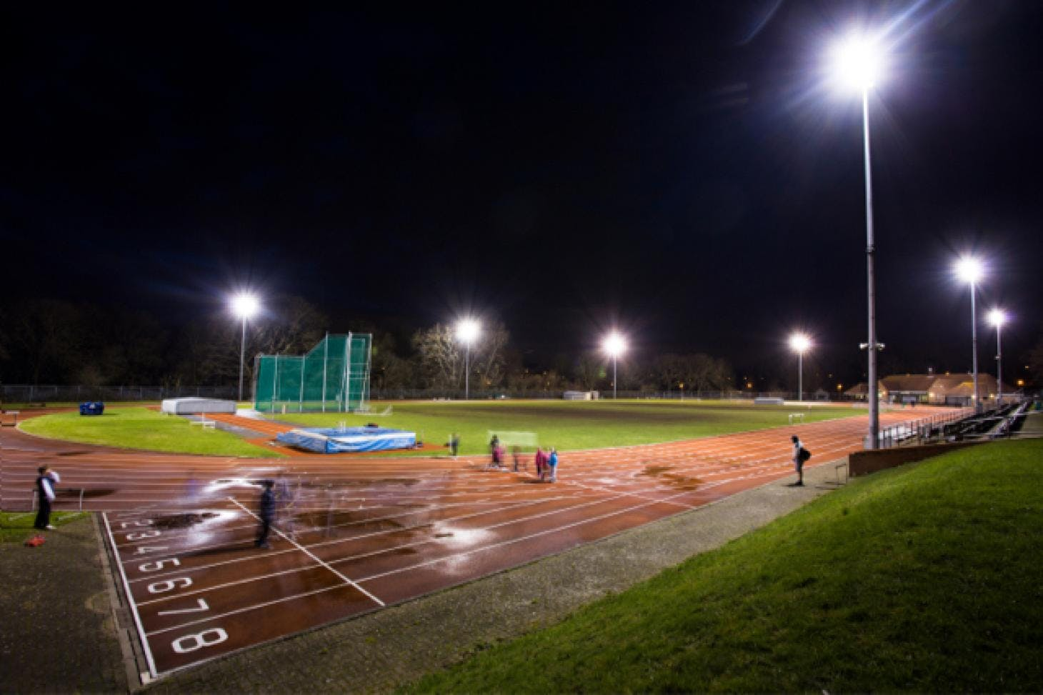 Tooting Bec Athletics Track Outdoor | Synthetic rubber athletics track