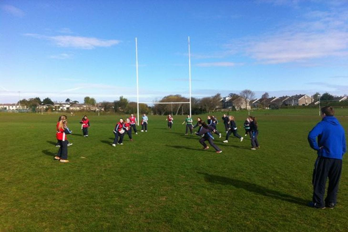 Kilbogget Park - Coolevin Union   Grass rugby pitch