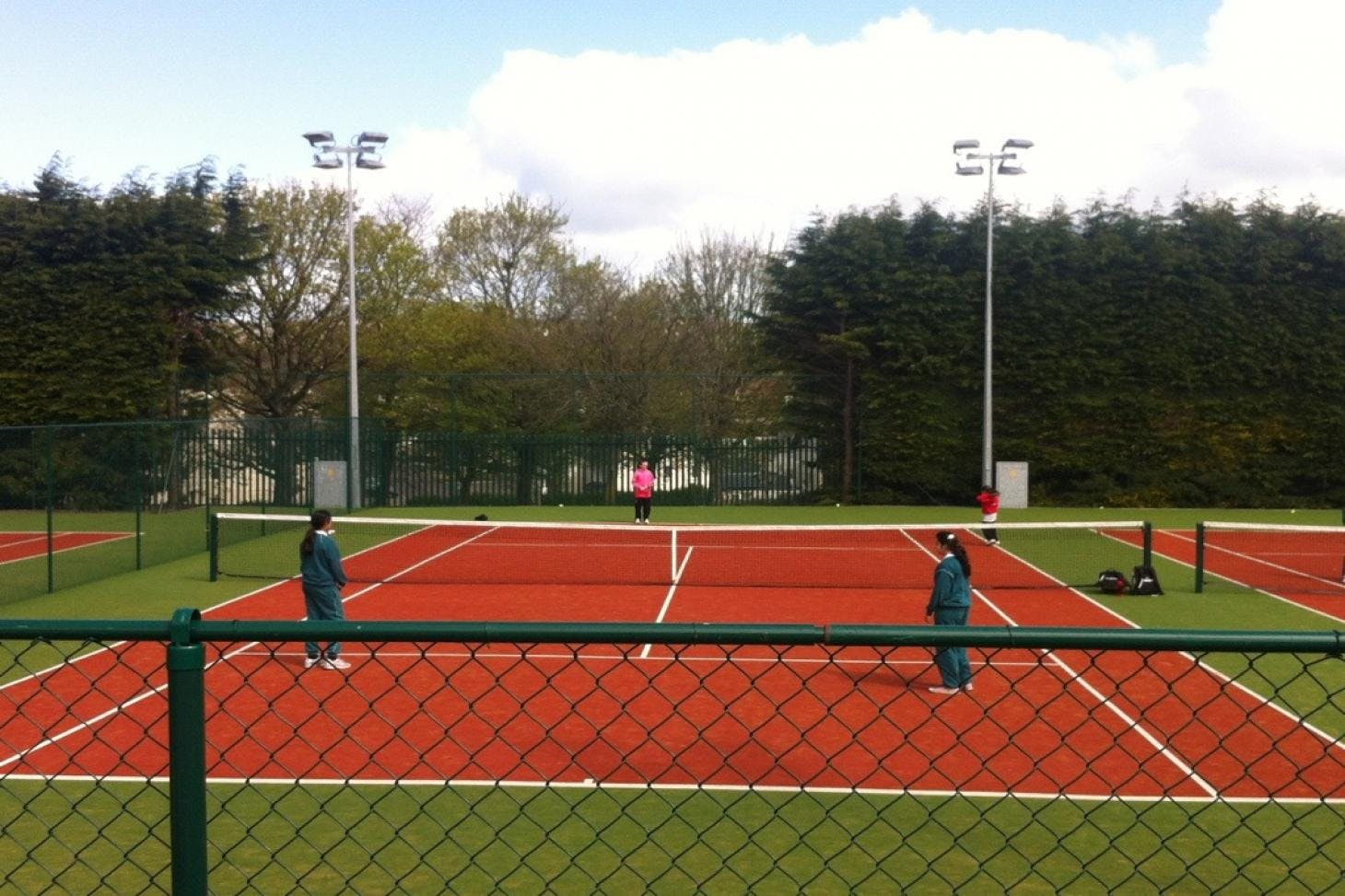 St Columba's College Outdoor | Astroturf tennis court
