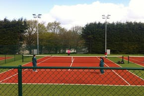 St Columba's College | Astroturf Tennis Court