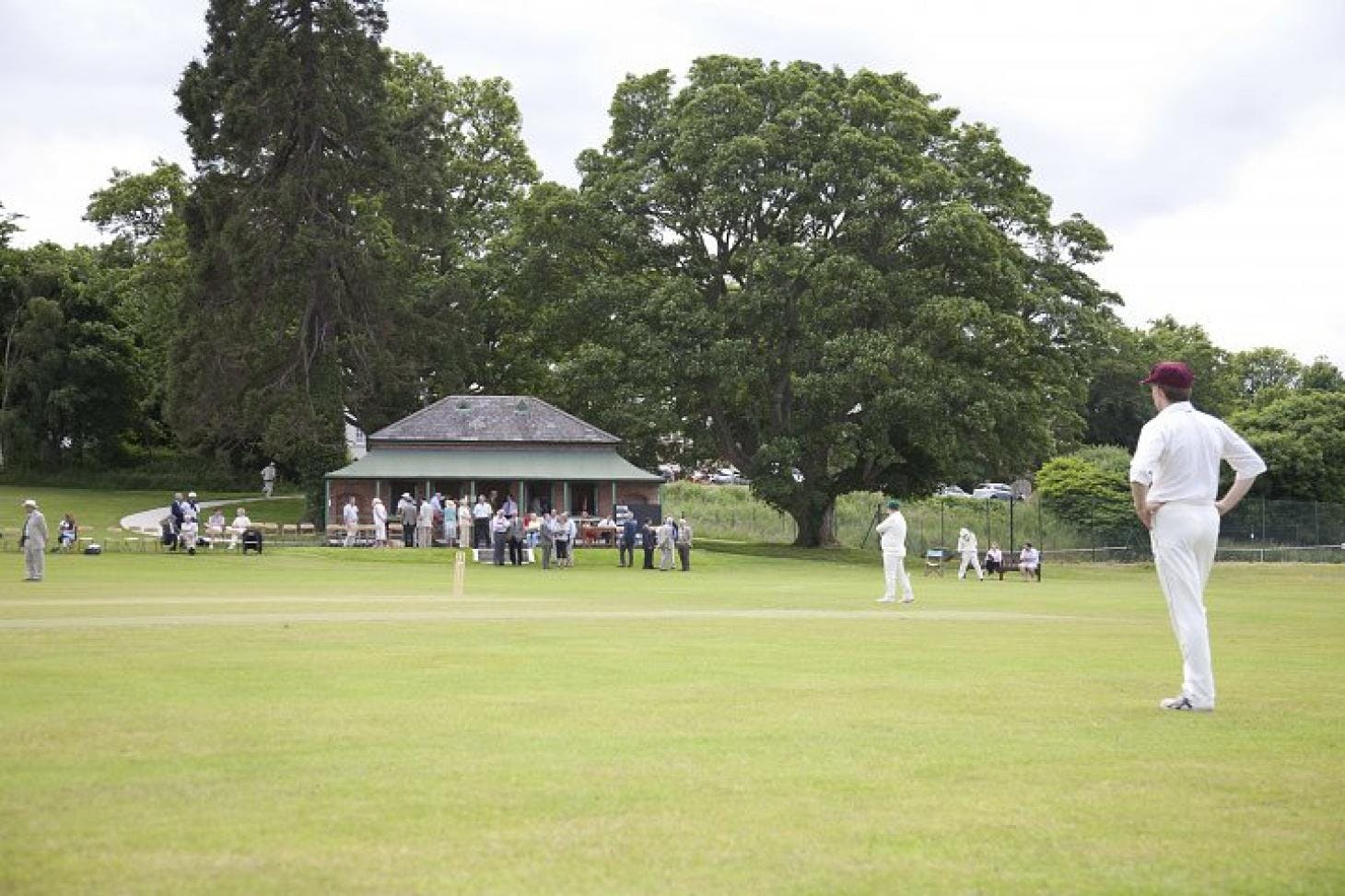 St Columba's College Outdoor | Grass cricket facilities