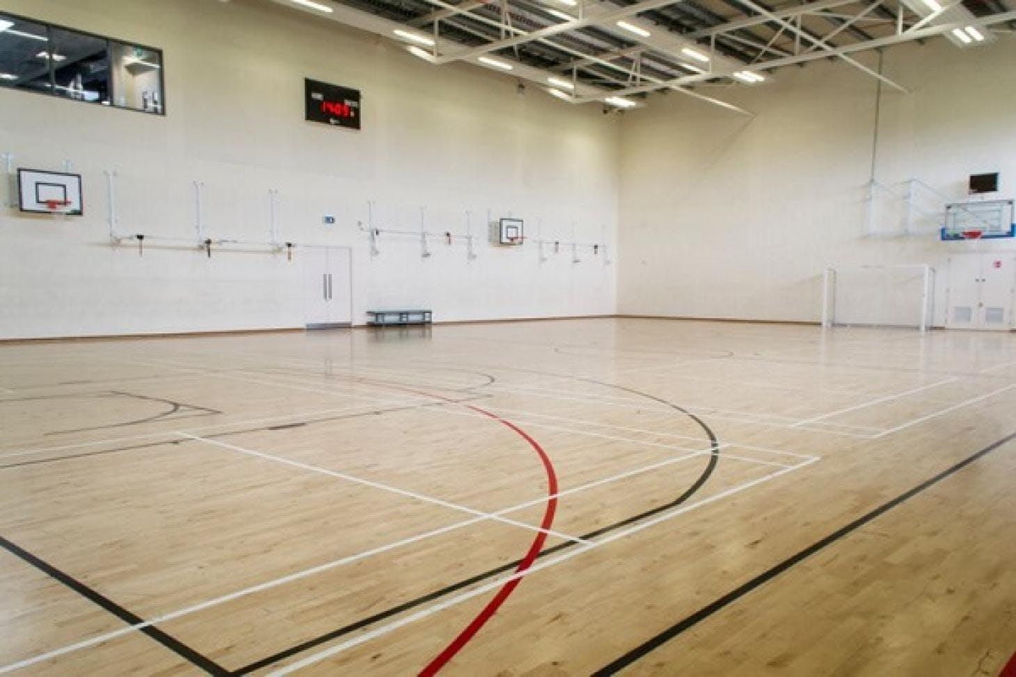 Inspire Fitness Centre Indoor | Hard badminton court