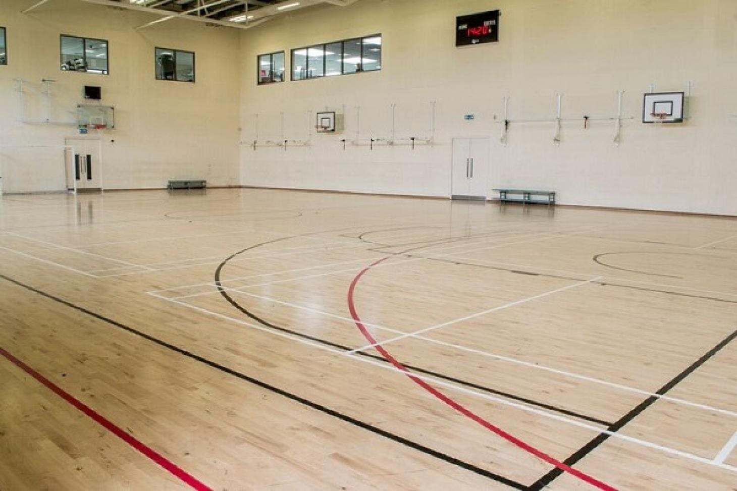 Inspire Fitness Centre Indoor | Hard badminton court
