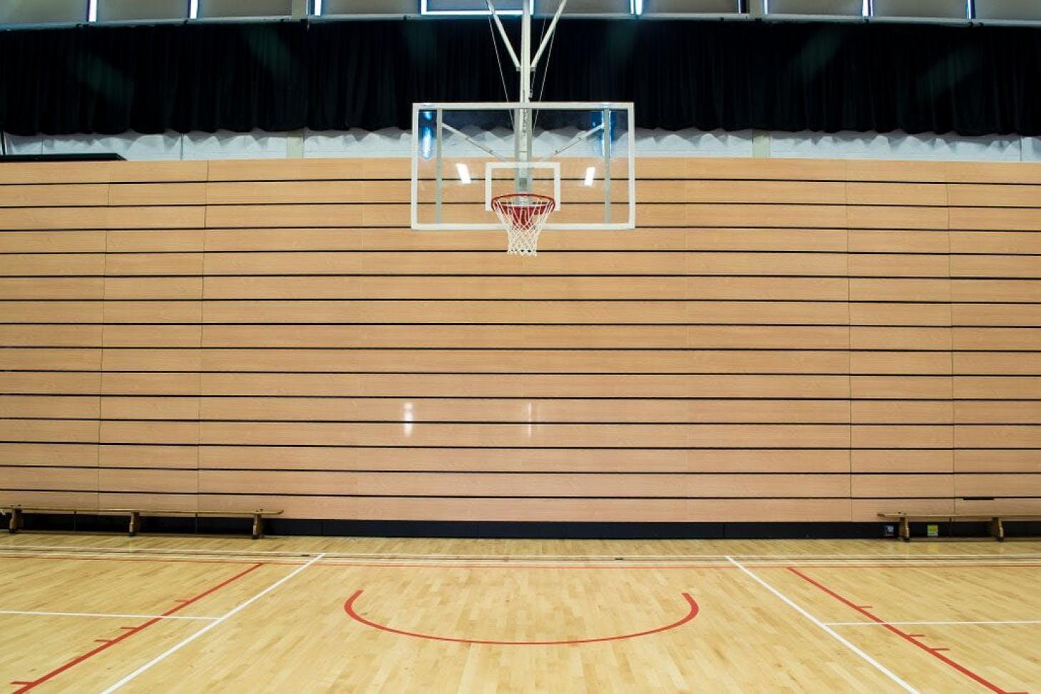 Alexandra College Indoor basketball court