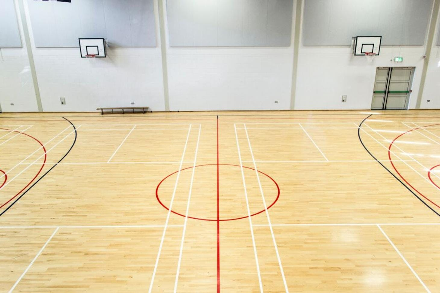 Alexandra College Indoor | Hard badminton court