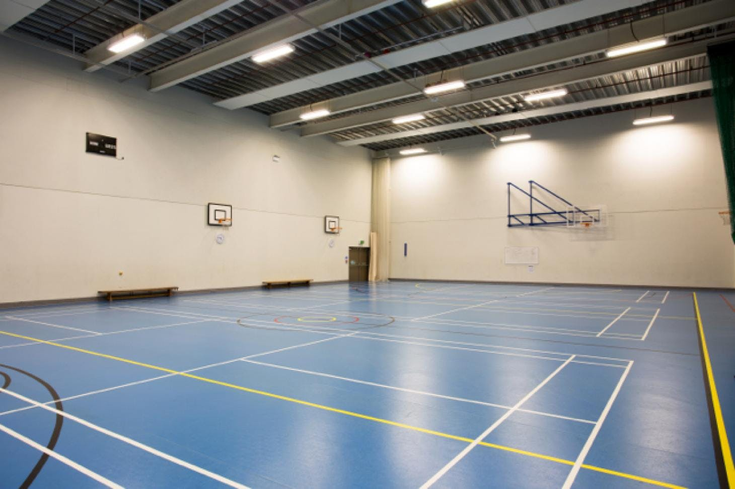 Frederick Bremer School Indoor | Hard badminton court