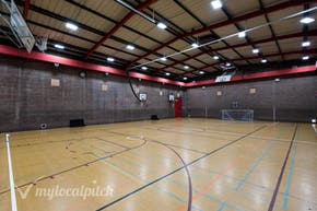 Chiswick School | Hard Badminton Court