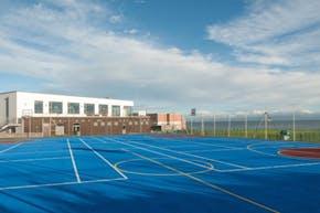 Loreto Abbey Sports Hall | Hard (macadam) Tennis Court