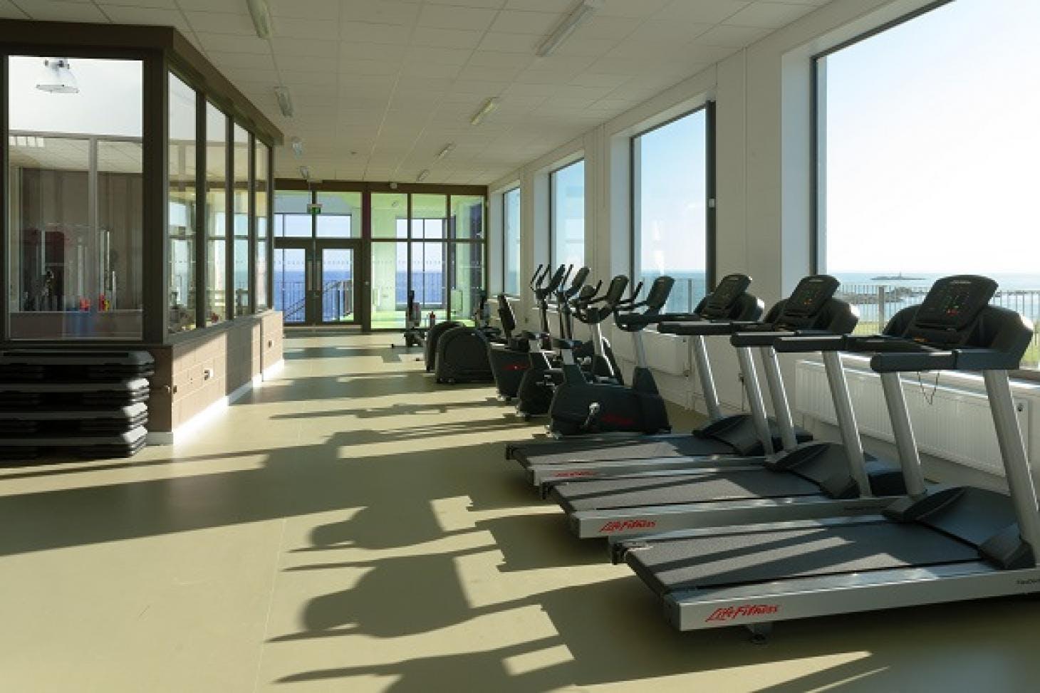 Loreto Abbey Sports Hall Indoor gym