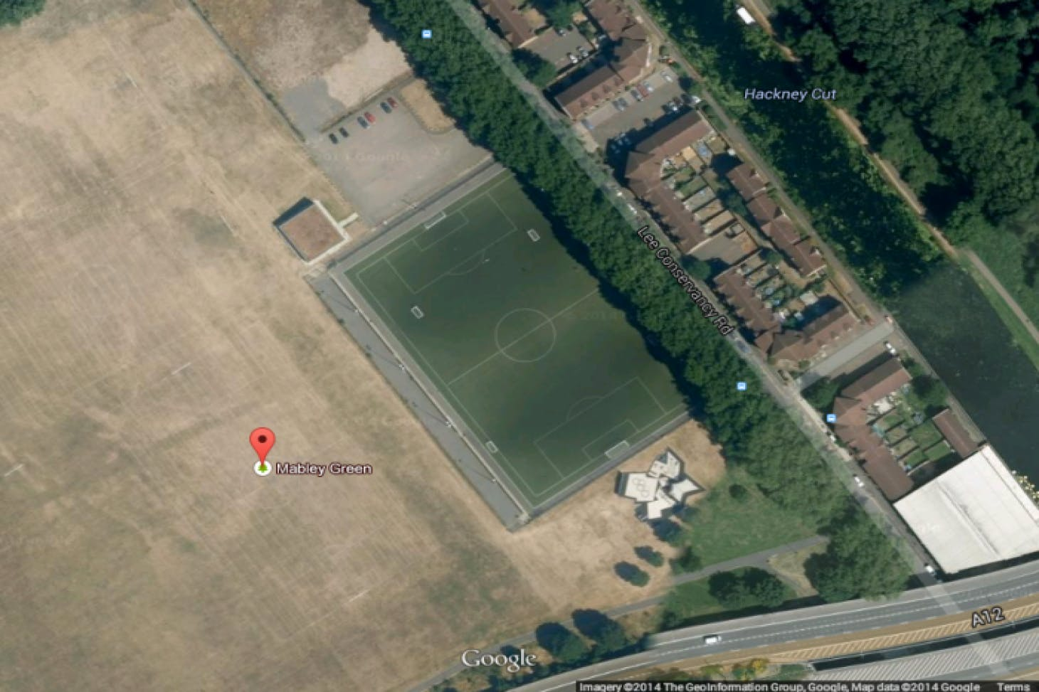 Mabley Green 11 a side   Grass football pitch