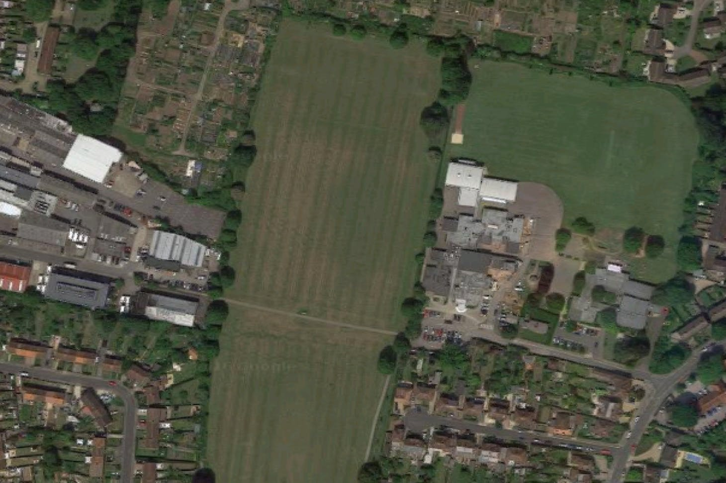 Clewer Recreation Ground 11 a side   Grass football pitch