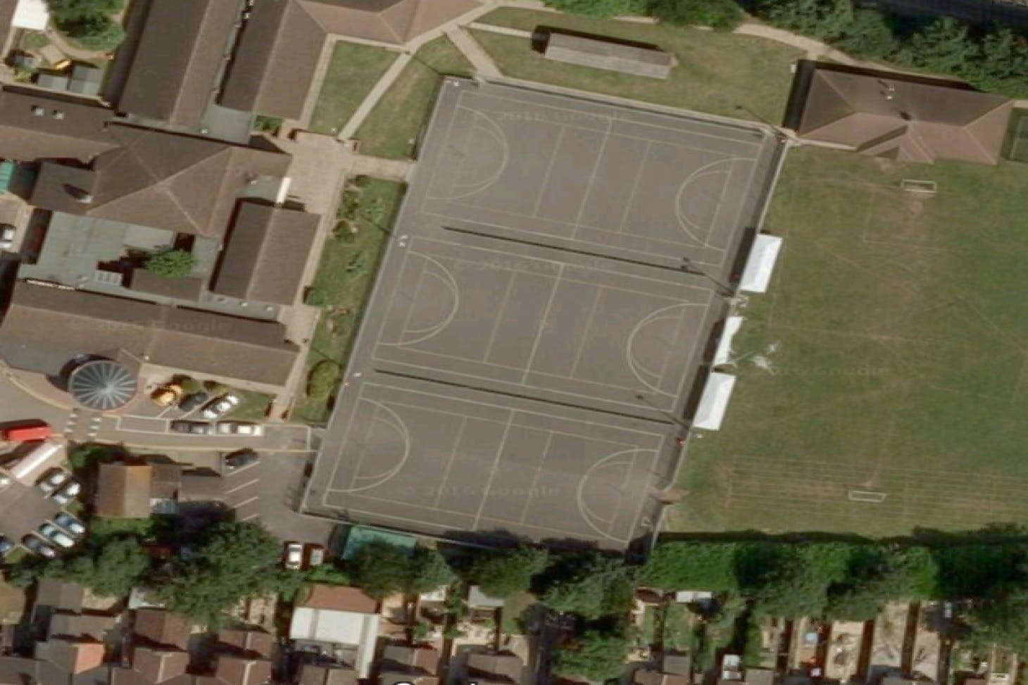 Dallow Primary School 5 a side | Concrete football pitch