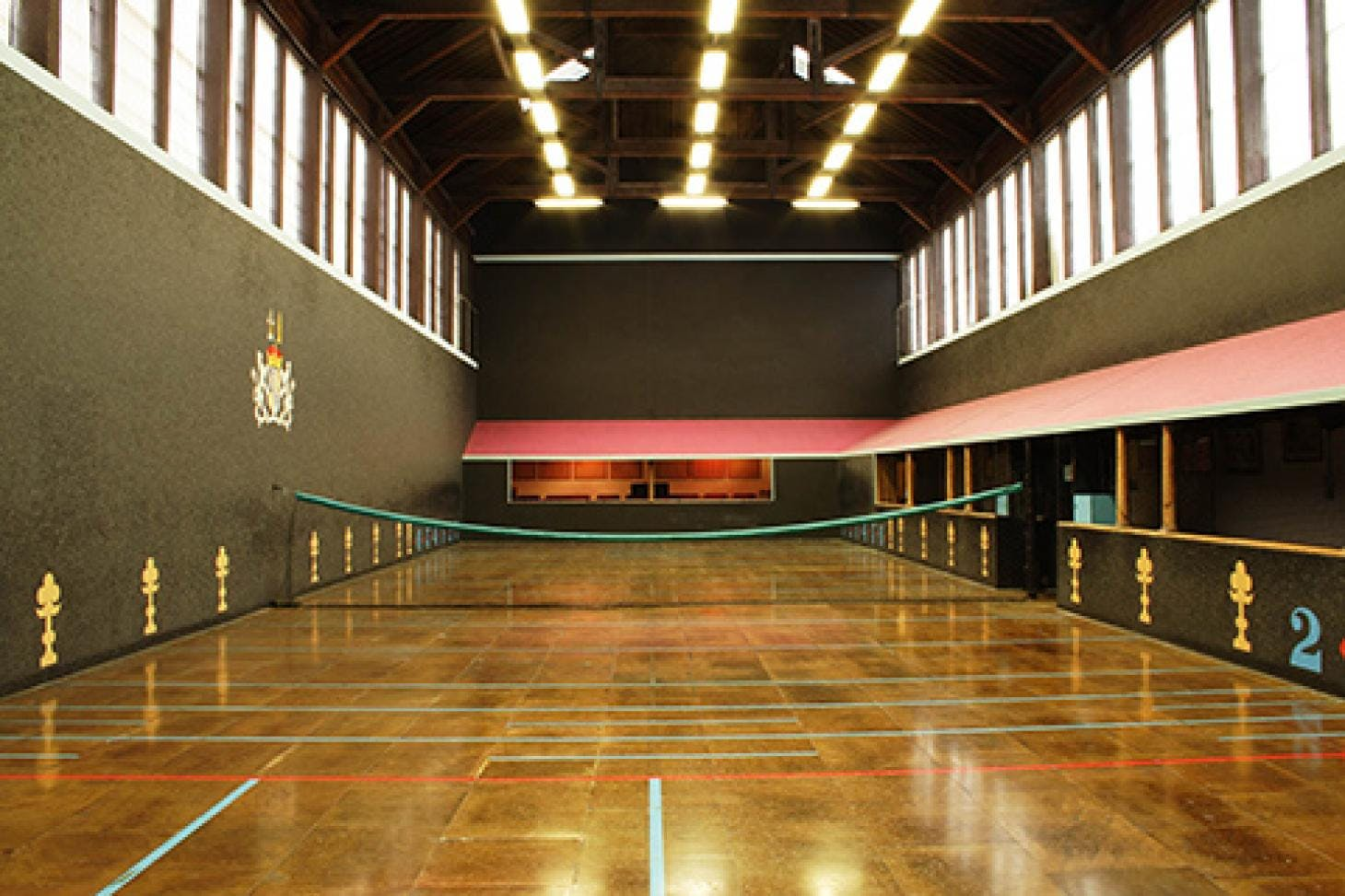 Hatfield House Indoor tennis court