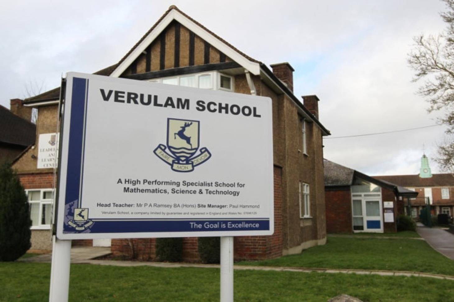 Verulam School 11 a side | Grass football pitch