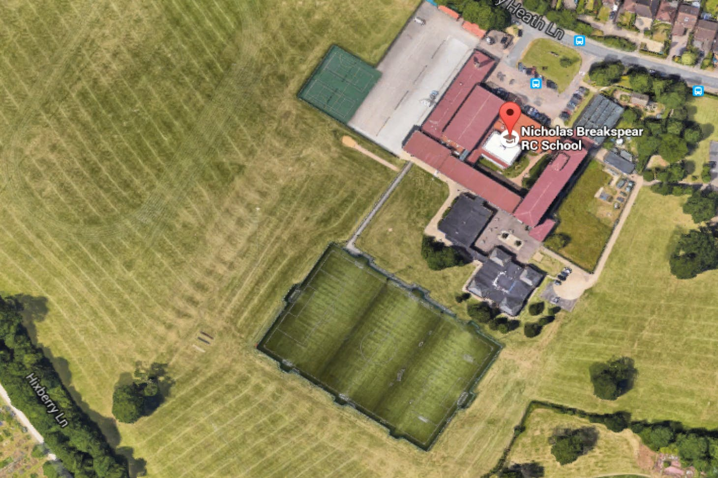 Nicholas Breakspear RC School Full size | Grass cricket facilities
