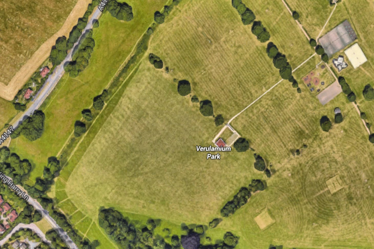 Verulamium Park 11 a side | Grass football pitch