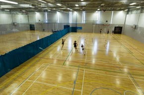 Sports Zone at Oaklands College | Hard Badminton Court