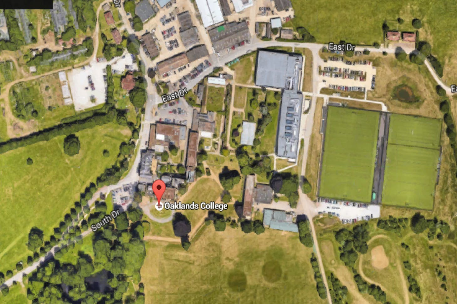 Sports Zone at Oaklands College Union   Astroturf rugby pitch