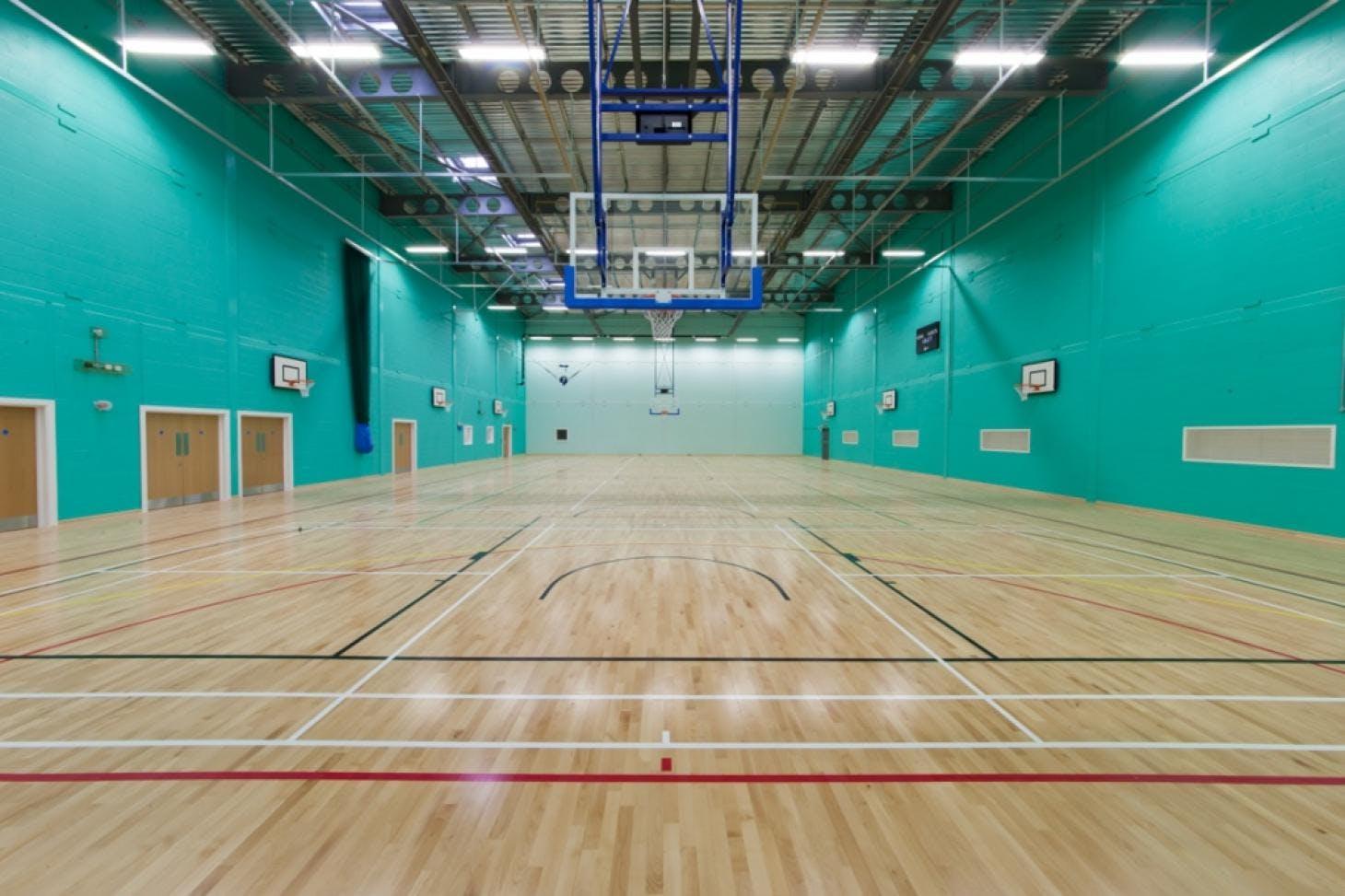 Sandringham School 5 a side   Indoor football pitch
