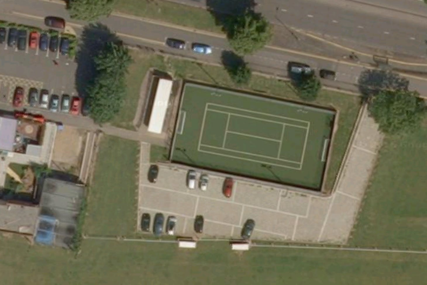Chaul End Community Centre Outdoor | Hard (macadam) tennis court
