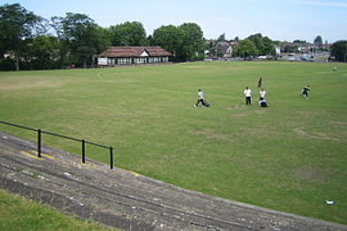 Wardown Park Full size | Grass cricket facilities