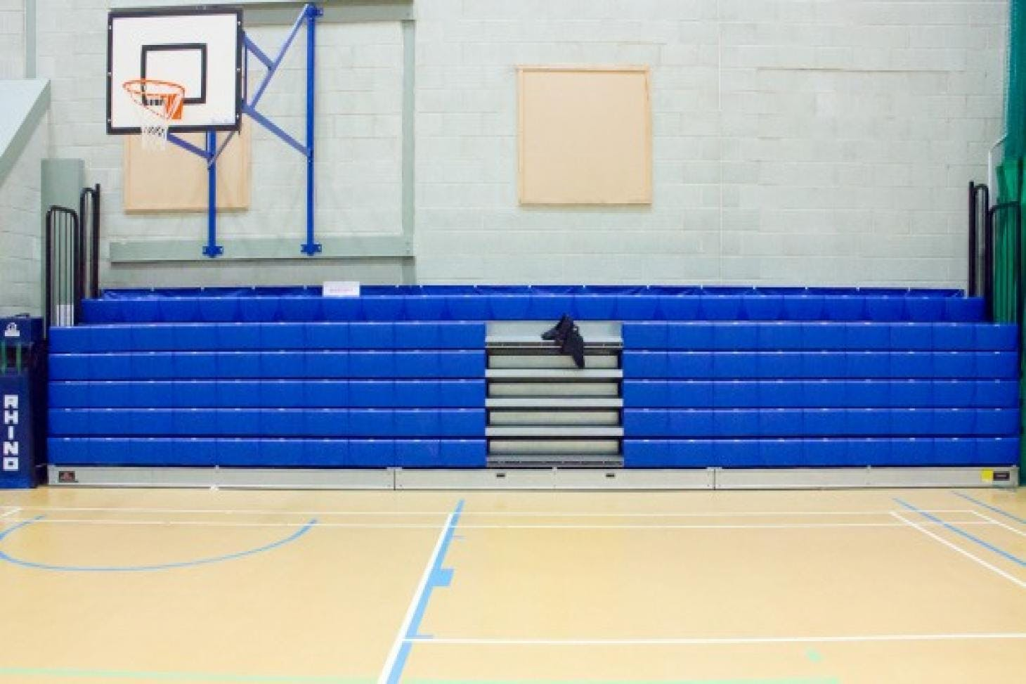 Luton Sixth Form College Indoor basketball court