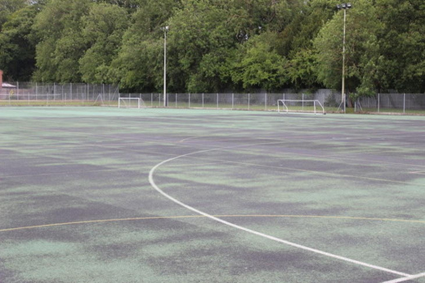 Putteridge High School 5 a side | Concrete football pitch