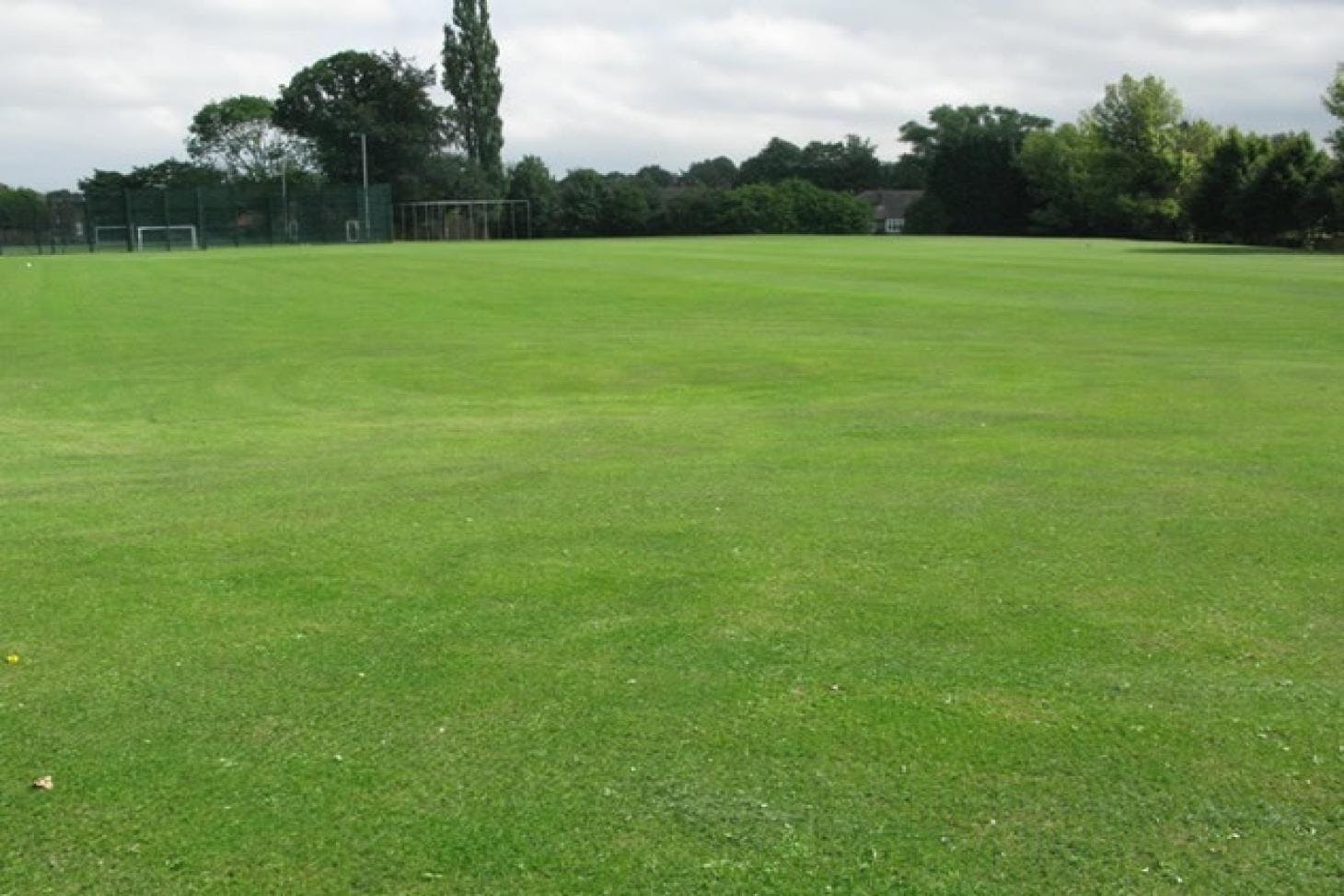 Denbigh High School Full size | Grass cricket facilities