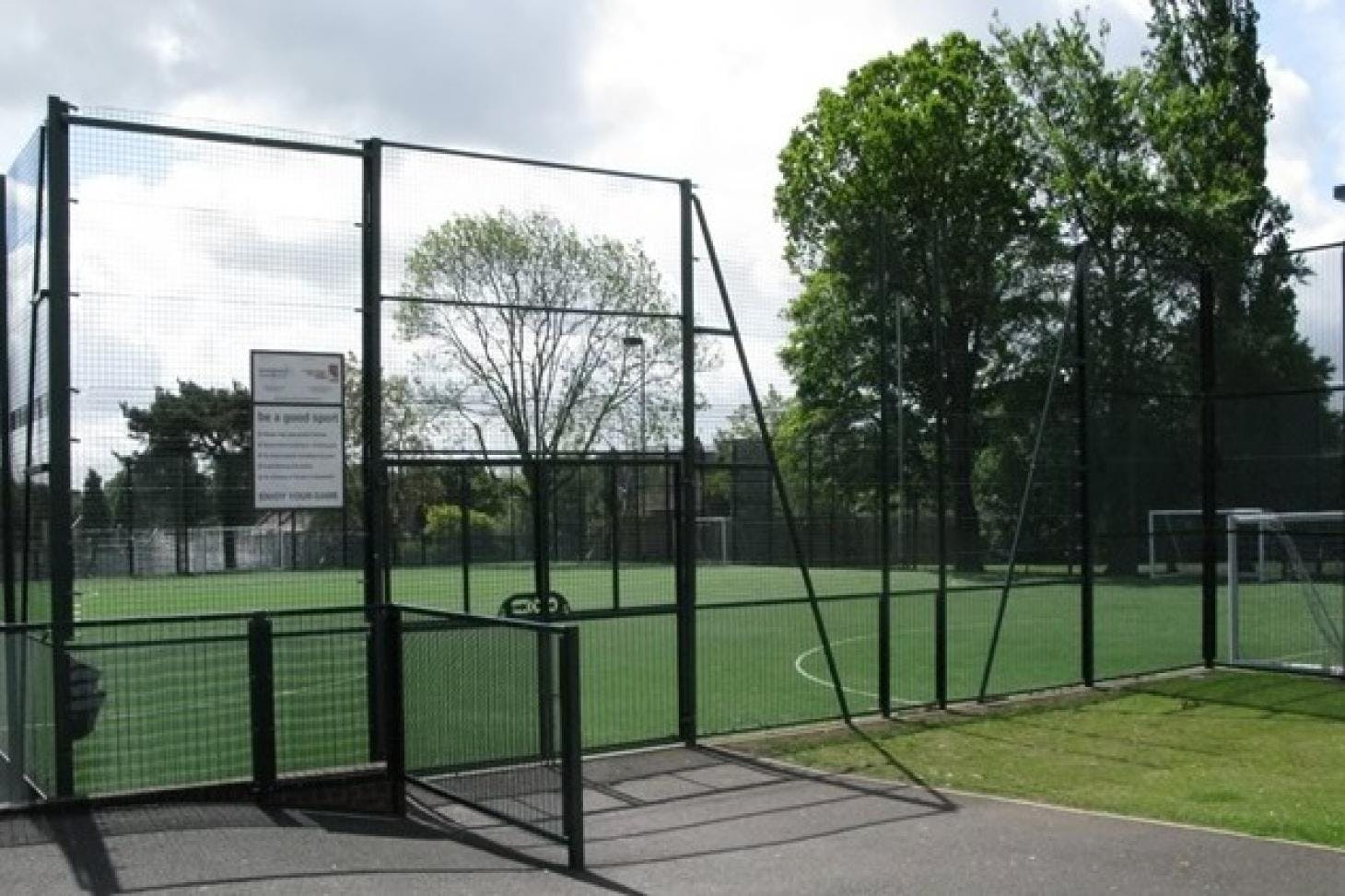 Denbigh High School 5 a side | 3G Astroturf football pitch