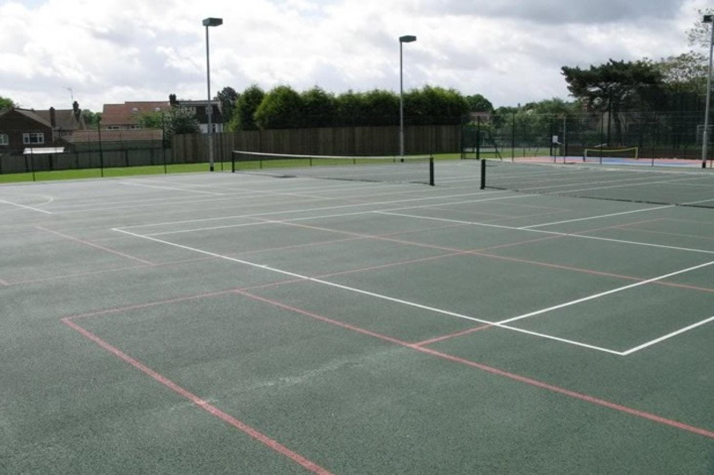 Denbigh High School Outdoor | Hard (macadam) tennis court
