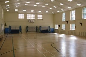 Denbigh High School | Indoor Netball Court
