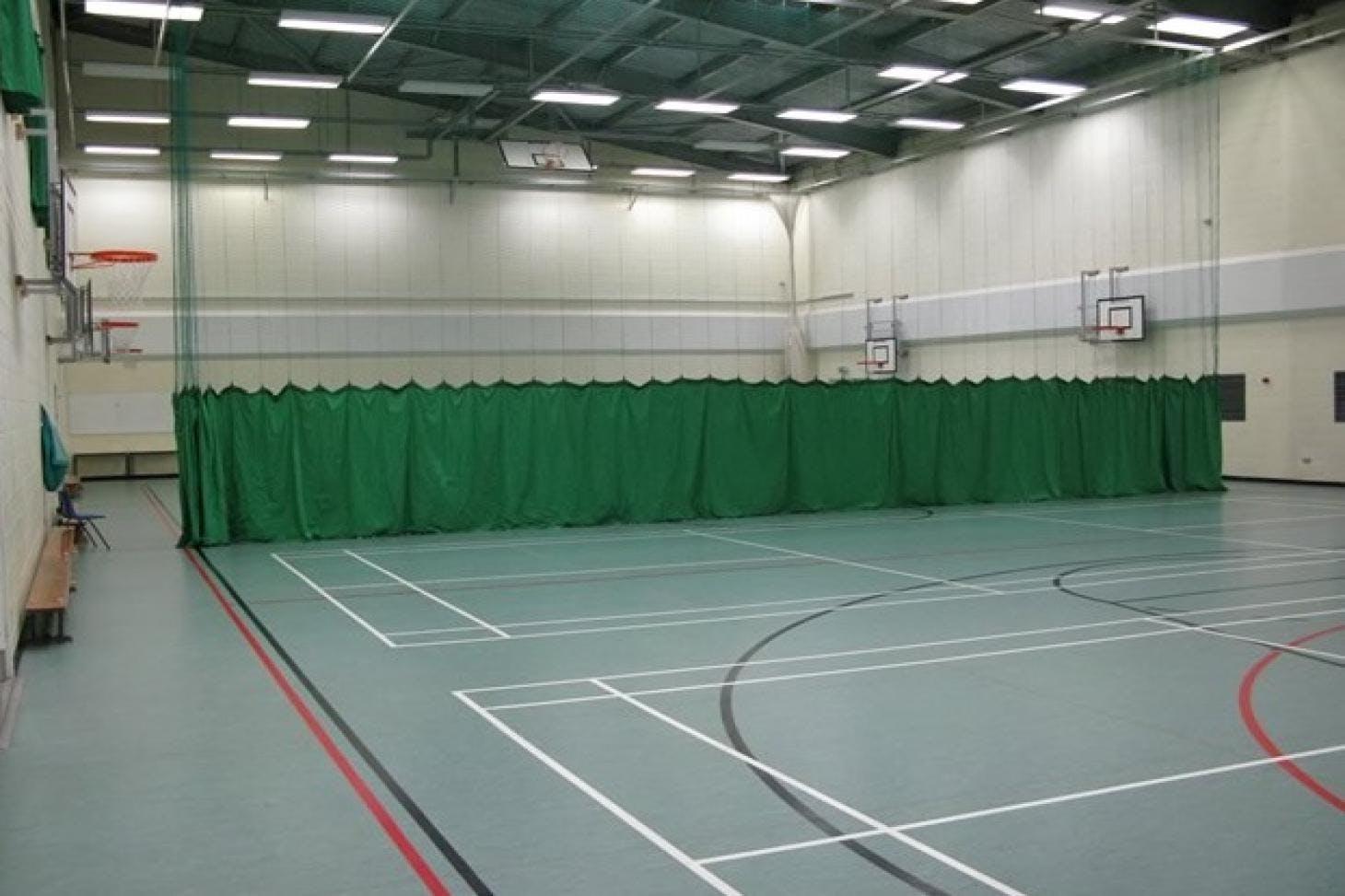 Denbigh High School Nets | Sports hall cricket facilities