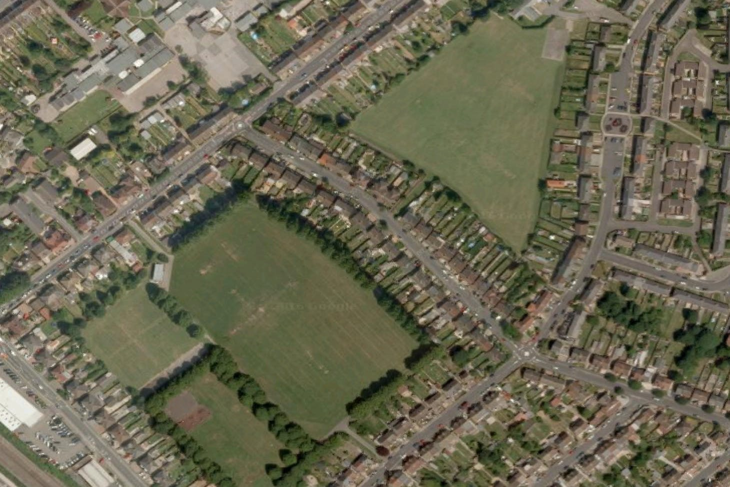 Alder Crescent Recreation Ground 11 a side | Grass football pitch