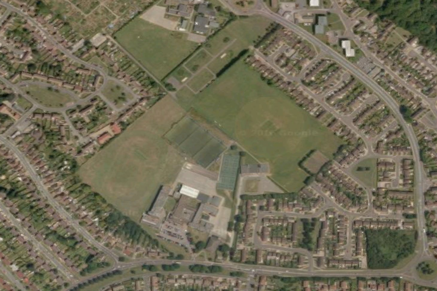 Crawley Green Recreation Ground 11 a side | Grass football pitch
