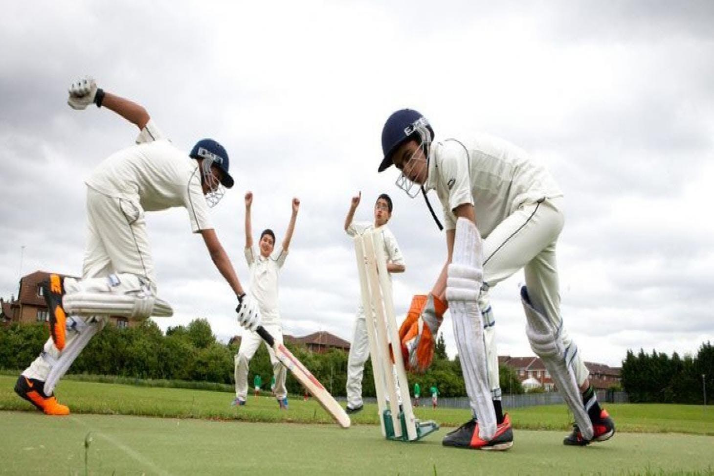 Challney High School for Boys Full size | Grass cricket facilities