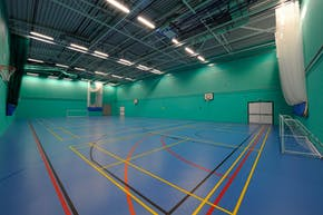 Challney High School for Girls | Sports hall Cricket Facilities