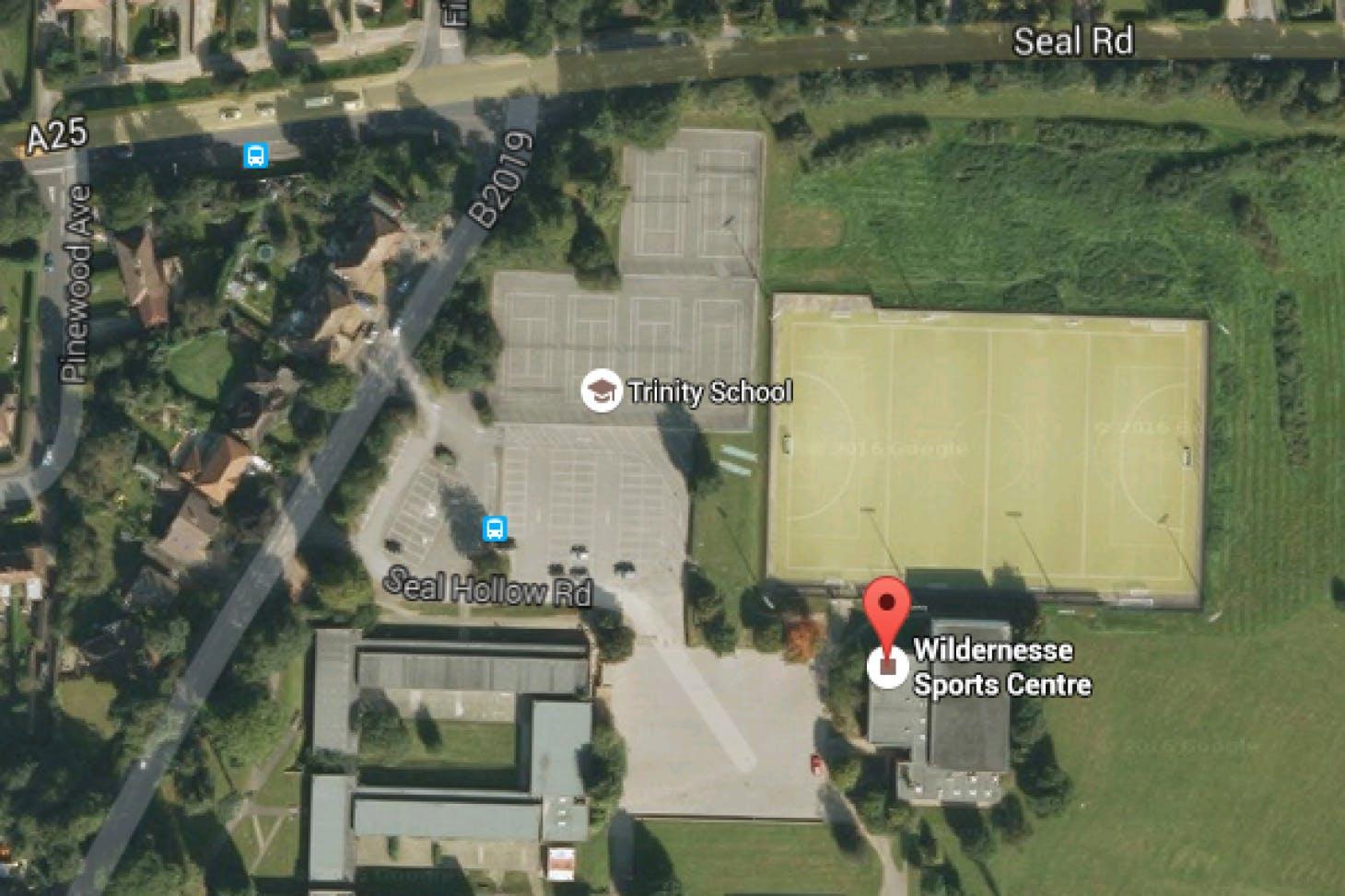 Wildernesse Sports Centre Indoor | Hard badminton court