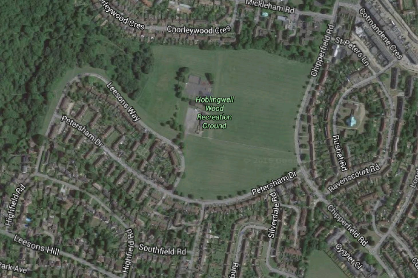 Hoblingwell Wood Recreation Ground 11 a side | Grass football pitch