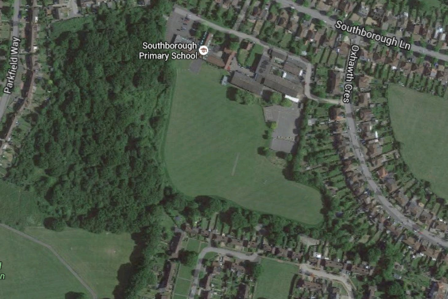 Southborough Primary School Full size | Grass cricket facilities