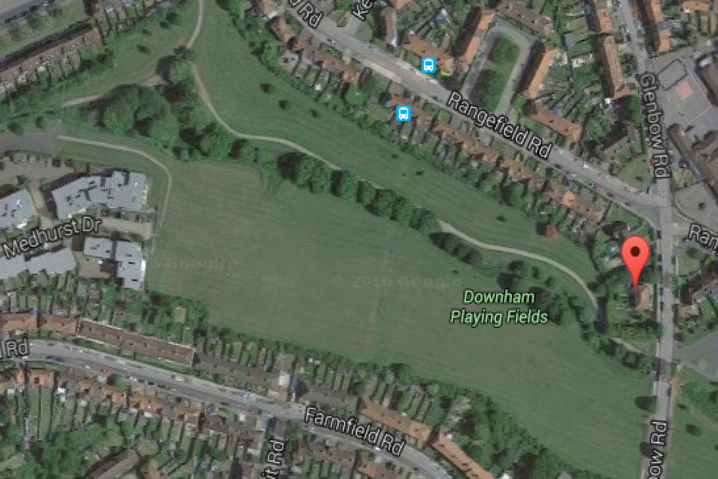 Downham Playing Fields 11 a side | Grass football pitch