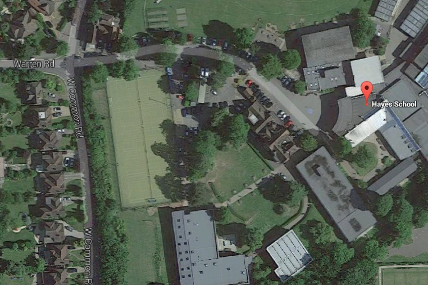 Hayes School Full size | Grass cricket facilities