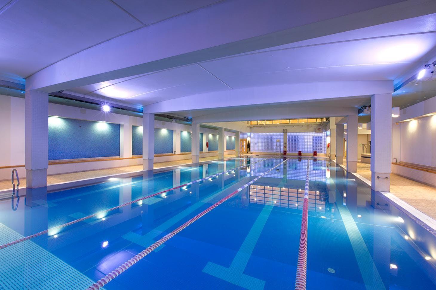 Virgin Active Bromley Indoor swimming pool